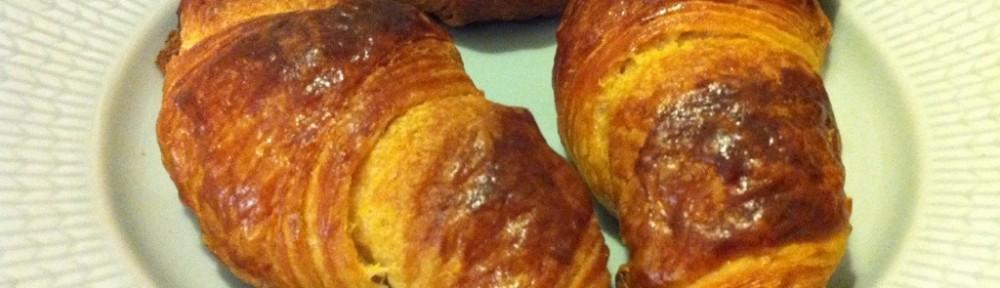 Croissant till söndagsfrukost