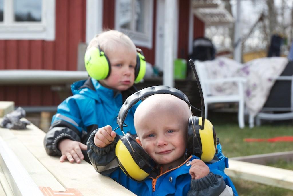 Hörselskyddsbarn