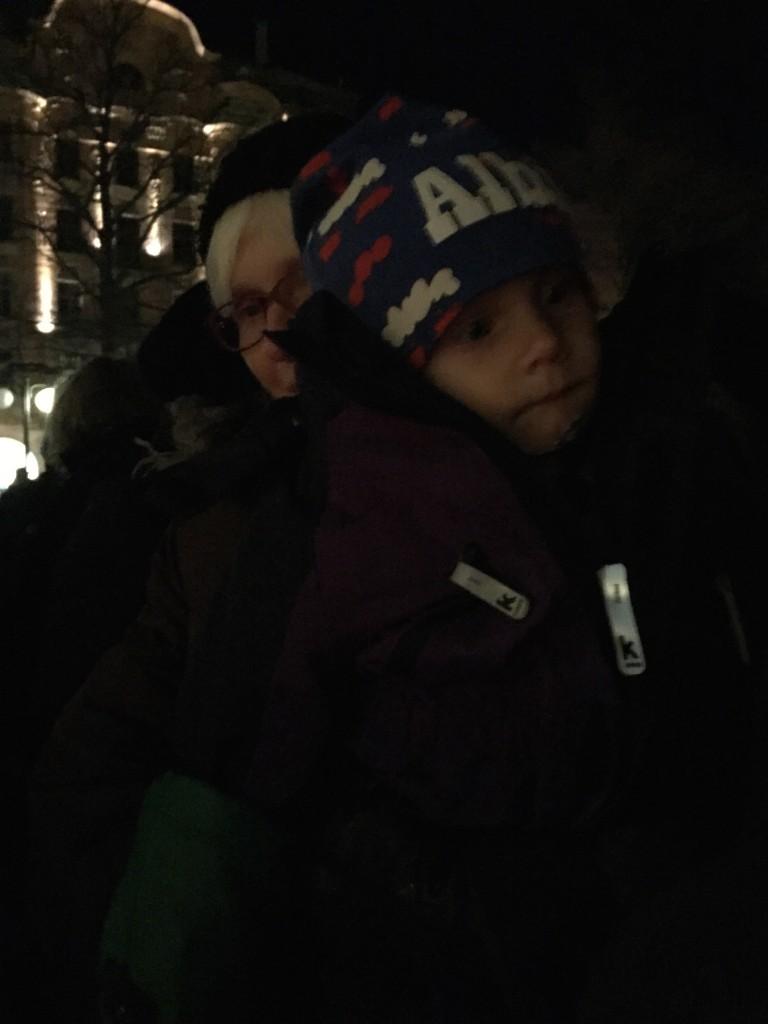 Albin ljusmanifestation