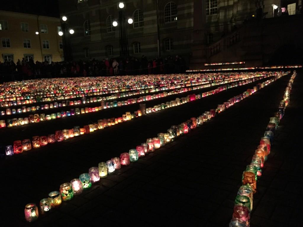 Ljusmanifestation